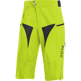 GORE WEAR C5 All Mountain Short Homme, citrus green